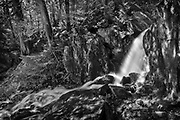 Waterfall in boreal forest<br />Crow Lake<br />Ontario<br />Canada