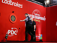 Gary Anderson during the 2018 Players Championship Finals at Butlins Minehead, Minehead, United Kingdom on 25 November 2018.