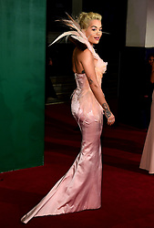 Rita Ora attending the Evening Standard Theatre Awards 2018 at the Theatre Royal, Drury Lane in Covent Garden, London.