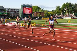 womens 400 meters semi, Gilda Casanova, Cuba