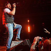 """SILVER SPRING, MD - December 19th, 2014 - Chase Rice performs at the Fillmore Silver Spring in Silver Spring, MD. Rice co-wrote Florida Georgia Line's """"Cruise,"""" the best-selling country digital song of all time. He released his debut album, Ignite The Night, in August. (Photo by Kyle Gustafson/For The Washington Post)"""