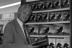 Richard Adams, author of Watership Down, at Barkers of Kensington when he was promoting his book and the new film of his novel, which is to be premiered at the EmpireTheatre, Leicester Square, London, tomorrow.