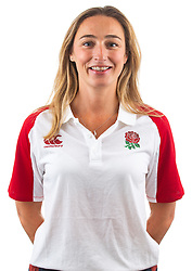 Jo Tyler of England Rugby 7s - Mandatory by-line: Robbie Stephenson/JMP - 17/09/2019 - RUGBY - The Lansbury - London, England - England Rugby 7s Headshots