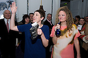 JOCASTA HAMILTON; STEPHANIE THEOBALDS; ;  Launch of Stephanie Theobald's book' A Partial Indulgence'  drinks provided by Ruinart champage nd Snow Queen vodka. The Artesian at the Langham, 1c Portland Place, Regent Street, London W1