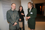 Jonathon Barnbrook, Tomoko Yoneda  and Myra Millinger, Maricopa Partnership for Arts and Culture,  Arizona Office of Tourism, and Arizona Department of Commerce<br /> In association with the Architecture Foundation and Blueprint magazine host Phoenix: 21st Century City , Serpentine Gallery, London. 12 March 2007.  -DO NOT ARCHIVE-© Copyright Photograph by Dafydd Jones. 248 Clapham Rd. London SW9 0PZ. Tel 0207 820 0771. www.dafjones.com.