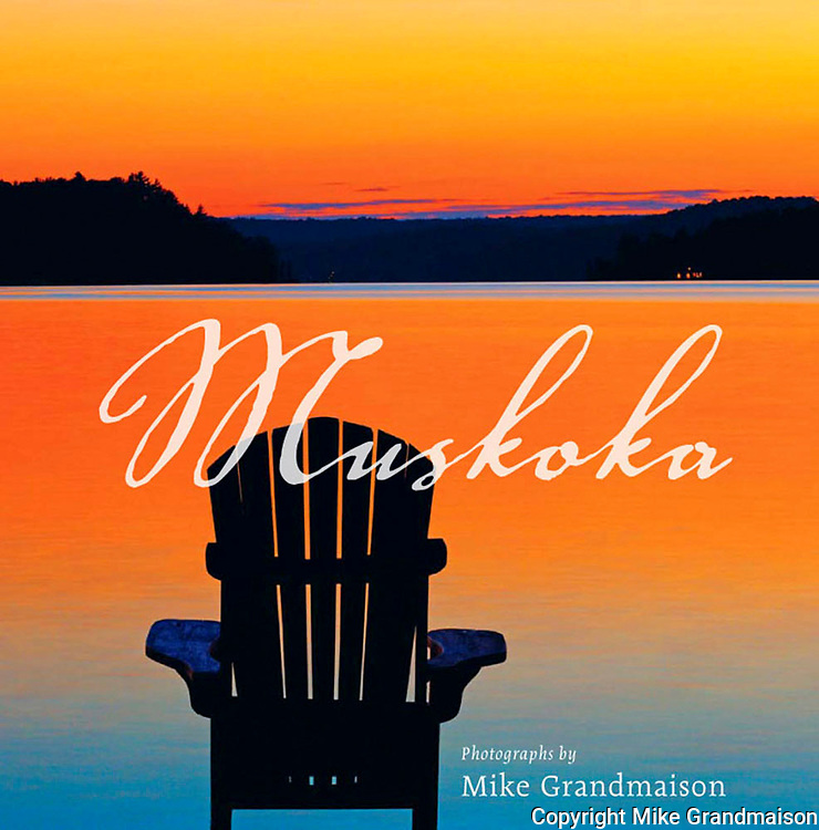 PRODUCT: Book<br /> TITLE: Muskoka<br /> CLIENT: Key Porter Books