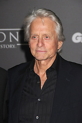 December 10, 2016 - Los Angeles, California, United States - December 10th 2016 - Los Angeles California USA - Actor MICHAEL DOUGLAS   at the World Premiere for ''Rogue One Star Wars'' held at the Pantages Theater, Hollywood, Los Angeles  CA (Credit Image: © Paul Fenton via ZUMA Wire)