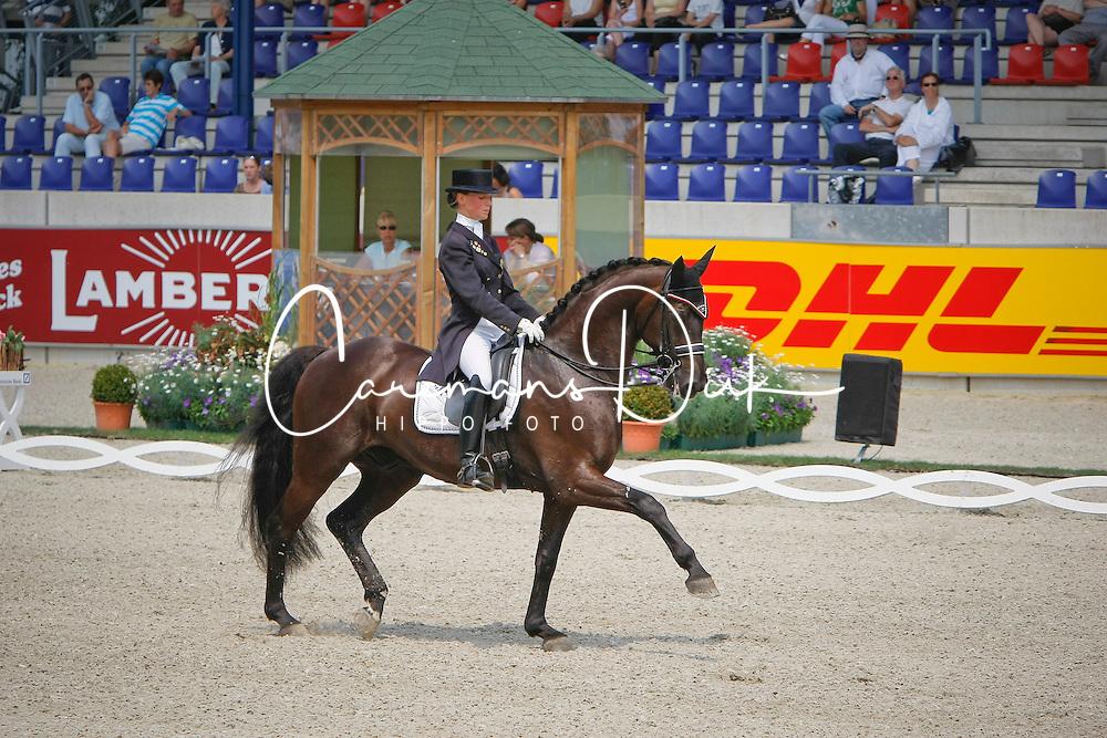 Verliefden Fanny (BEL) - Rubel 13<br /> CDIO Grand Prix<br /> CHIO Aachen 2009<br /> Photo © Dirk Caremans