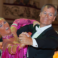 Dietmar Jungmann & Susanne Jungmann from Germany perform their dance during the Senior Ballroom competition of the Blackpool Dance Festival that is the most famous event among dance competitions held in Blackpool, United Kingdom on May 27, 2011. ATTILA VOLGYI