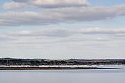 Hamworthy / Lake on the banks of Poole Harbour, Dorset, UK.