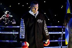 Wladimir Klitschko ahead of his fight against Anthony Joshua at Wembley Stadium, London.