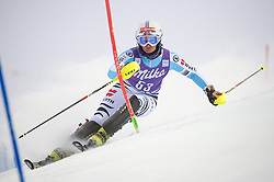 15.11.2014, Levi Black, Levi, FIN, FIS Weltcup Ski Alpin, Levi, Slalom, Damen, 1. Lauf, im Bild Marlene Schmotz (GER) // Marlene Schmotz of Germany // in action during 1st run of ladies Slalom of FIS ski alpine world cup at the Levi Black in Levi, Finland on 2014/11/15. EXPA Pictures © 2014, PhotoCredit: EXPA/ Nisse Schmidt<br /> <br /> *****ATTENTION - OUT of SWE*****