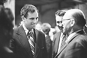 """Y-720523C-20.""""Oregon primary election. Senator George McGovern campaigning, rally at Hilton Hotel, new mayor Neil Goldschmidt, victory celebration. May 23, 1972"""""""