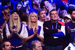 November 26, 2017 - Lille, France, France - Oxana - compgne de Cedric Pioline.Isabelle Camus  - Femme Yannick Noah.Jean Claude Camus (Credit Image: © Panoramic via ZUMA Press)