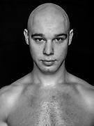 """BOXEN: Studio, Portrait of a Boxer, Hamburg, 04.09.2019<br /> Sasha """"The Real Chupil"""" Alexander<br /> © Torsten Helmke"""