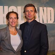 NLD/Utrecht/20150921 - Film premiere 'Holland – Natuur in de Delta', Hans Ubbink en partner Ans Brom
