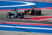 October 30-November 2 : United States Grand Prix 2014, Lewis Hamilton (GBR), Mercedes Petronas, Sebastian Vettel (GER), Red Bull-Renault