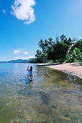 Walung Village, Kosrae, Federated States of Micronesia, Micronesia<br />