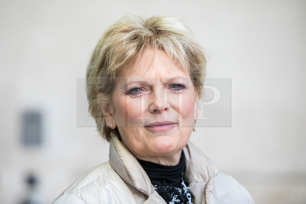 © Licensed to London News Pictures. 11/02/2018. London, UK. Anna Soubry MP outside BBC Broadcasting House together. Photo credit: Rob Pinney/LNP