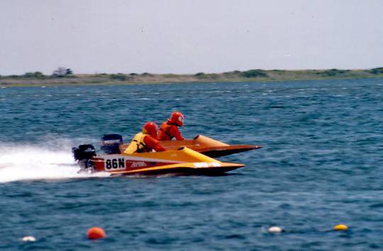 Offshore Boat Racing at Mastic Beach 2004