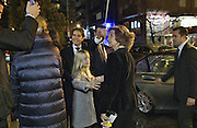 MADRID, SPAIN, 2015 DECEMBER 05<br /> <br />  Queen Sofia extends its caring side to her grandchildren, Irene Urdangarin and Victoria Federica. Princess Elena, came with his daughter Victoria. The charity concert was conducted by Ecoembes in the National Auditorium in Madrid. With a recycled instrument orchestra, who shared the stage with Malikian Ara and Antonio Carmona. On leaving the National Auditorium, small were very fun and loving each other and with their grandmother. Before leaving, they said goodbye with hugs and kisses Princess Elena who left minutes later in another car. On next 11 January, started the trial of Princess Cristina and her husband, in the Courts of Palma de Mallorca, where he is allegedly accused of corruption Inaki Urdangarin, along with his partner Diego Torres, in the case Nóos<br /> ©Exclusivepix Media
