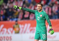 2016.03.23 Poznan<br /> Pilka Nozna Reprezentacja Mecz towarzyski<br /> Polska - Serbia<br /> N/z Lukasz Fabianski<br /> Foto Rafal Rusek / PressFocus<br /> <br /> 2016.03.23 Poznan<br /> Football Friendly Game<br /> Poland - Serbia<br /> Lukasz Fabianski<br /> Credit: Rafal Rusek / PressFocus