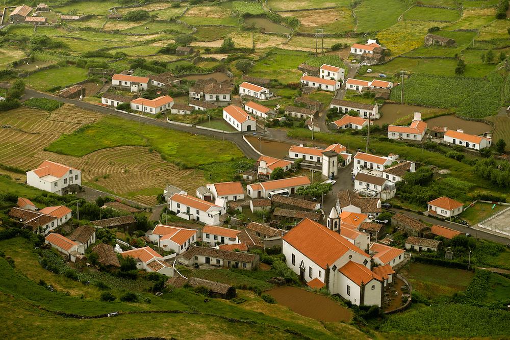 Fajazinha village at the west coast of Flores island.
