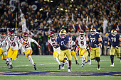 NCAA Football-Southern California at Notre Dame-Oct 12, 2019