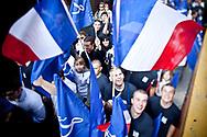 01052011. Paris. Défilé de Jeanne d'Arc du 1er mai du Front National, le premier de l'ère Marine Le Pen.