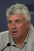 Brad Butterworth at the post race four press conference. America's Cup 2003. 28/2/2003 (© Chris Cameron 2003)