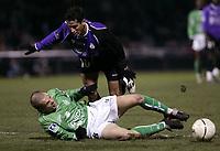 Fotball<br /> Frankrike 2004/05<br /> Istres v Saint Etienne<br /> 18. desember 2004<br /> Foto: Digitalsport<br /> NORWAY ONLY<br /> RAFIK SAIFI (IST) / DAVID HELLEBUYCK (ST-E)