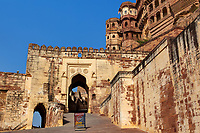 Meherangarh Fort in the beautiful city of jodhpur in rajasthan state in indi