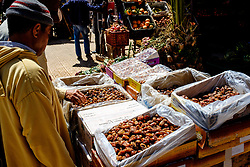 Dates for sale in a market in Taliouine, a little mountain village in the south of Morocco<br /> <br /> (c) Andrew Wilson   Edinburgh Elite media