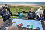 Frankrijk,Colleville, 11-5-2013 Serie over de invasie door de geallieerden op de stranden van Normandie, 6 juni 1944. Bevrijding, herdenking, 2e, tweede wereldoorlog, oorlog, atlantik wall, dday, d-day, d day Foto: Flip Franssen