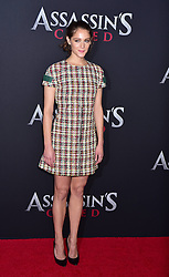 Ariane Labed attends the Assassin's Creed premiere at AMC Empire 25 theater on December 13, 2016 in New York City, NY, USA. Photo by MM/ABACAPRESS.COM