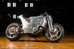 The Zonkern Sportster from Custom Works Zon in Shiga Prefecture, Japan, at the Mama Tried Show, Milwaukee, WI. USA. Friday February 23, 2018. Photography ©2018 Michael Lichter.