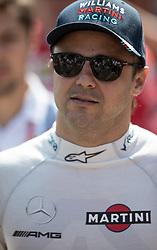 May 27, 2017 - Monte-Carlo, Monaco - Felipe Massa of Brazil and Williams Martini Racing driver arrive to the qualification on Formula 1 Grand Prix de Monaco on May 27, 2017 in Monte Carlo, Monaco. (Credit Image: © Robert Szaniszlo/NurPhoto via ZUMA Press)