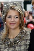 Zijne Hoogheid Prins Floris van Oranje Nassau, van Vollenhoven en mevrouw mr. A.L.A.M. Söhngen zijn zaterdag 22 oktober in de kerk van Naarden in het  huwelijk getreden. De prins is de jongste zoon van Prinses Magriet en Pieter van Vollenhoven.<br /> <br /> Church Wedding Prince Floris and Aimée Söhngen. <br /> <br /> Church Wedding Prince Floris and Aimée Söhngen in Naarden. The Prince is the youngest son of Princess Margriet, Queen Beatrix's sister, and Pieter van Vollenhoven. <br /> <br /> Op de foto / On the photo;<br /> <br /> <br /> <br /> Hare Koninklijke Hoogheid Prinses Máxima der Nederlanden<br /> <br /> Her royal highness princess Máxima of the The Netherlands