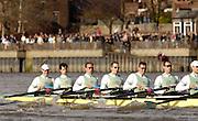 Putney, London, ENGLAND, 02.04.2006, 2006, Varsity,Boat Race, Cambridge,  © Peter Spurrier/Intersport-images.com.[Mandatory Credit Peter Spurrier/ Intersport Images] 2006, Varsity Boat Race,  Varsity, Boat race. Rowing Course: River Thames, Championship course, Putney to Mortlake 4.25 Miles