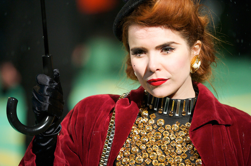 Singer Paloma Faith attends the Royal World Premiere of 'Alice in Wonderland' at the Odeon Leicester Square in London.
