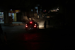 June 20, 2017 - Gaza City, Gaza Strip, Palestinian Territory - A general view shows Gaza City in the evening hours during a power cut, on June 19, 2017  (Credit Image: © Mohammed Asad/APA Images via ZUMA Wire)