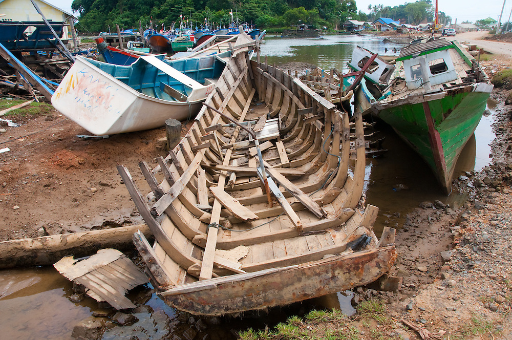 Indonesia, Sumatra, Aceh. Absolute destruction caused by tsunami