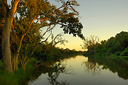 Makgalakwena River scene just before sunrise, Limpopo, South Africa