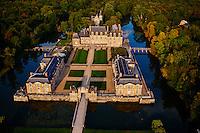France, Loiret (45), Sologne, Châteaux de la Loire, château de La Ferté-Saint-Aubin // France, Loiret, Sologne, La Ferte Saint Aubin Castle