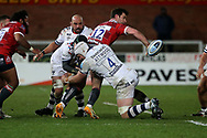 Gloucester Rugbys Mark Atkinson during the Gallagher Premiership Rugby match between Gloucester Rugby and Bristol Rugby at the Kingsholm Stadium, Gloucester, United Kingdom on 12 February 2021.
