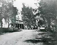 1890 Eight Mile House aka Pass Hotel in the Cahuenga Pass