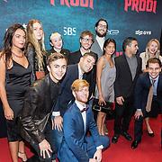 NLD/Amsterdam/20161010 - Premiere Prooi, Giel Beelen en zijn talenten