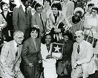 1979 Natalie Cole's Walk of Fame ceremony