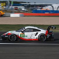 #91, Porsche Motorsport, Porsche 911 RSR, LMGTE Pro, driven by: Richard Lietz, Gianmaria Bruni at FIA WEC Silverstone 6h, 2018 on 17.08.2018