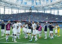 France celebrates greeting the supporters<br /> Nizhny Novgorod 06-07-2018 Football FIFA World Cup Russia  2018 Uruguay - France / Uruguay - Francia <br /> Foto Matteo Ciambelli/Insidefoto
